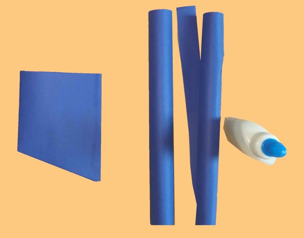 How do you make a simple paper gun ? (in Five minute)