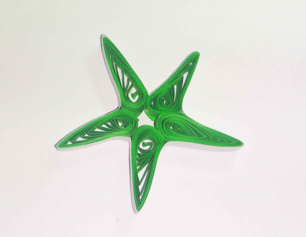 How to make paper quilling stars (easy craft)