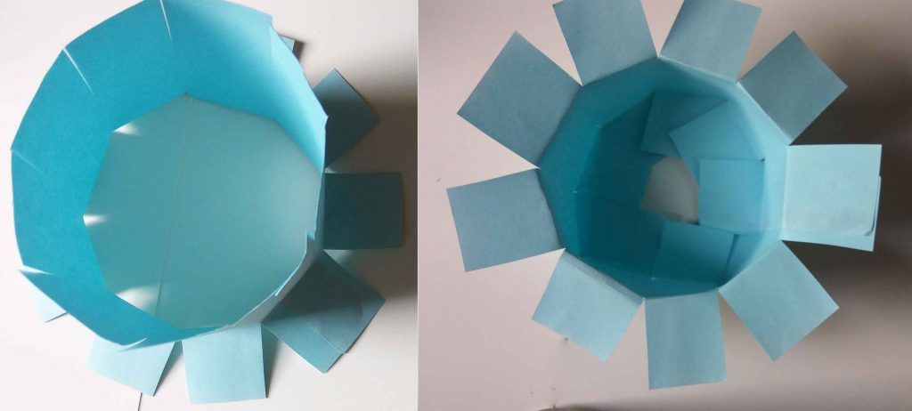 How to make paper sun hat? (Step by step)