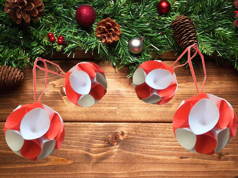 How to make Christmas balls