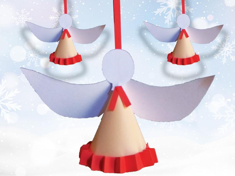 How to make Christmas angels