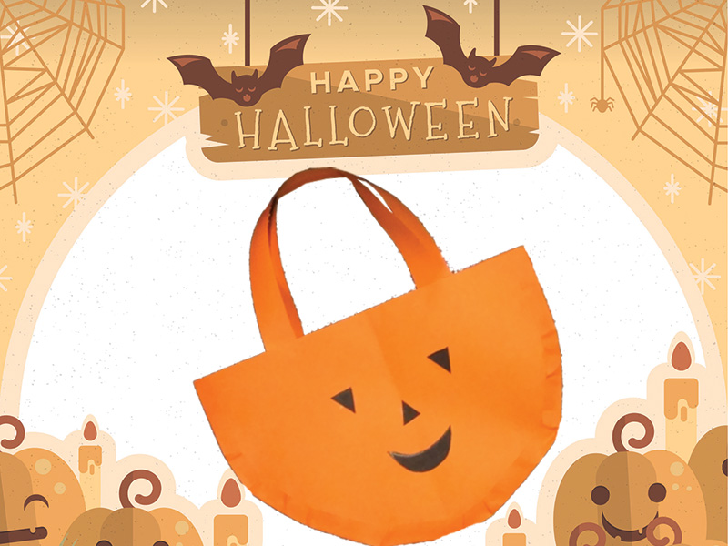 How to make Halloween paper bags