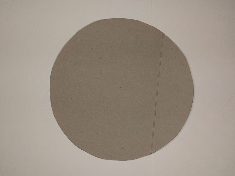 How to make a full moon out of cardboard