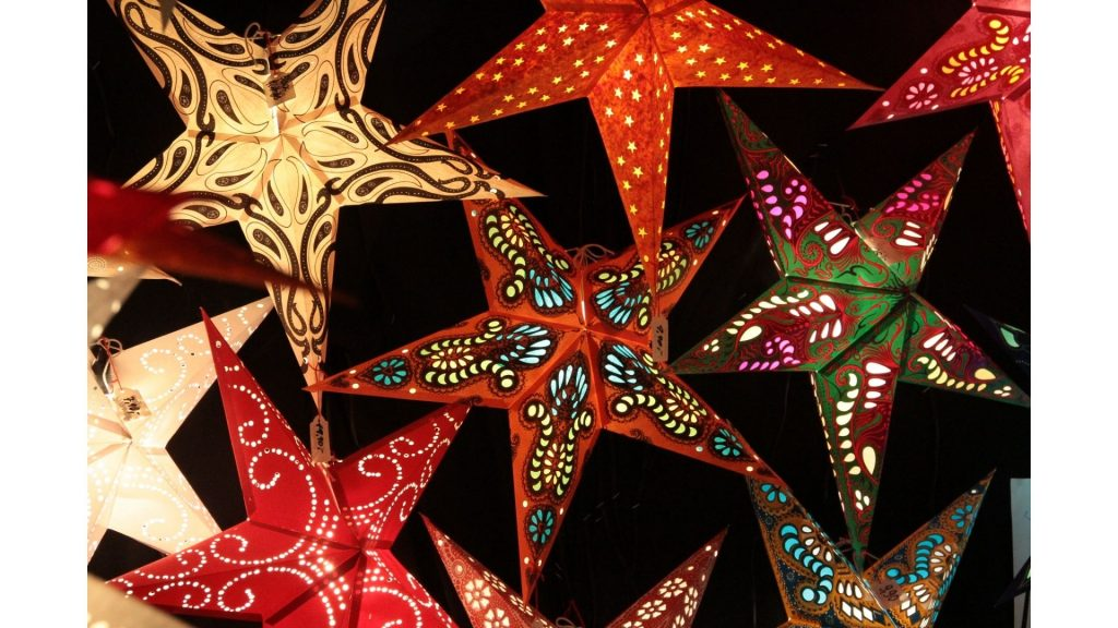How to make paper Christmas stars